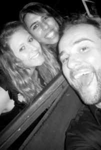 Tish, Emily and David DeLuise