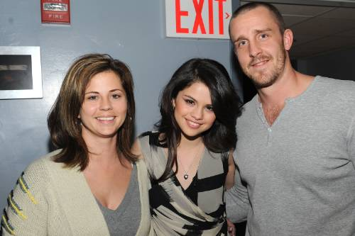 Selena Gomez with mom and step dad in attendance made their way to the .