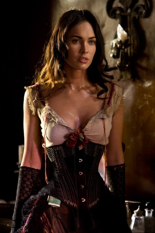 megan fox corset jonah hex. Megan Fox talks about Jonah